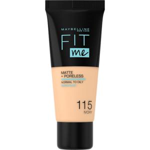 Maybelline Fit Me sjednocující matující make-up pro normální až mastnou pleť 115 Ivory 30ml