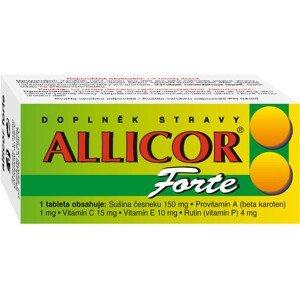 Allicor Forte česnek +C+E+P+BETA 60 tablet