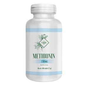 Vakos Methionin 250mg 100 tablet