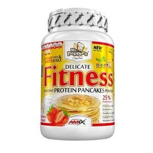 Amix Fitness Protein Pancakes, jahoda a jogurt, 800g
