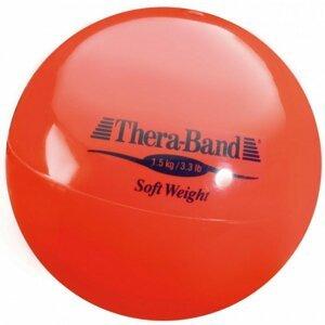 Theraband  Thera-Band Medicinball, červený, 1,5kg