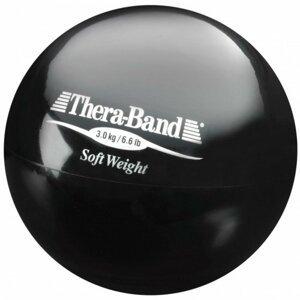 Theraband  Thera-Band Medicinball, černý, 3kg