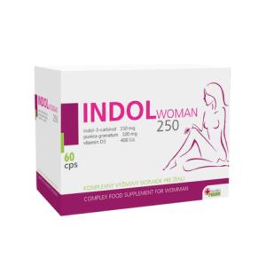 Medikapharm  Indol Woman 250 60 kapslí