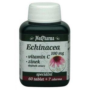 MedPharma Echinacea 100mg+Vitamin C+Zinek 67 tablet