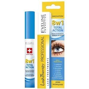 Eveline Cosmetics  Eveline Total Action – sérum na řasy 8v1 10ml