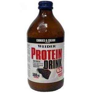 Weider, Protein Drink, 500ml,, Cookies