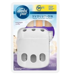 Ambi Pur  AmbiPur 3vol strojek + Moonlight Vanilla osvěžovač vzduchu 20ml