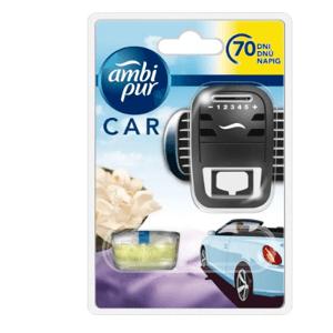 Ambi Pur  AmbiPur Car strojek + Moonlight Vanilla 7ml