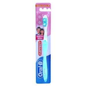 Oral-B 3 Effect Delicate White zubní kartáček medium 1ks
