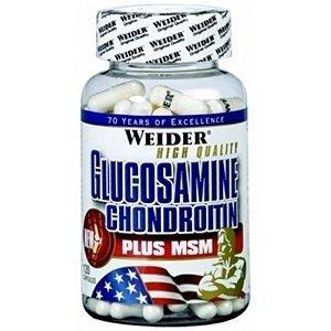 Weider  Glucosamine Chondroitin + MSM kloubní výživa 120 tablet