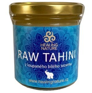 Day spa RAW Tahini z loupaného bílého sezamu 165ml