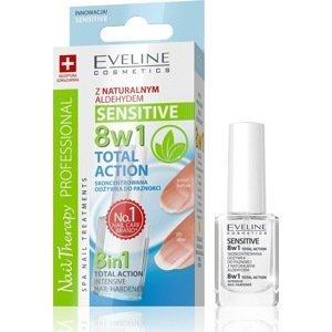 Eveline Cosmetics  Eveline SPA Nail Total 8v1 SENSITIVE - kondicionér na nehty 12ml
