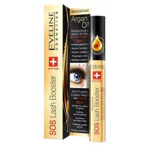 Eveline Cosmetics  Eveline SOS Lash Booster - Sérum na řasy 5v1 s arganovým olejem 10ml