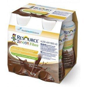 Resource Junior Fibre Kakao perorální roztok 4x200ml