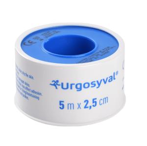URGO SYVAL Fixační náplast 5mx2,5cm textil