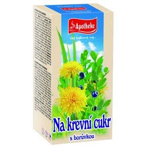 Apotheke Diabetický čaj 20x1.5g