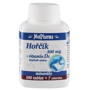 MedPharma Hořčík 300mg + Vitamin D3 107 tablet