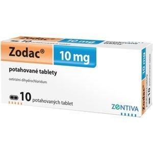 Zodac 10mg 10 potahovaných tablet