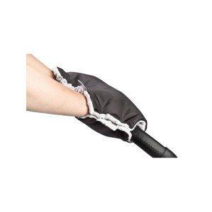 Sensillo Rukávník na kočárek z Minky 40x45 černý