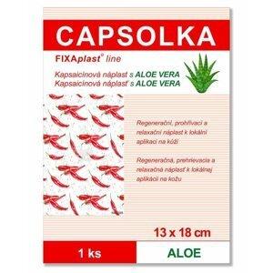 Fixaplast  CAPSOLKA Kapsaicínová náplast ALOE 13x18cm 1ks