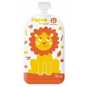 Petite&Mars  Kapsička na jídlo Papoo Original Lion 6ks