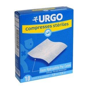 URGO Steril.komprese bavl.10x10cm 10sáčků á 2ks