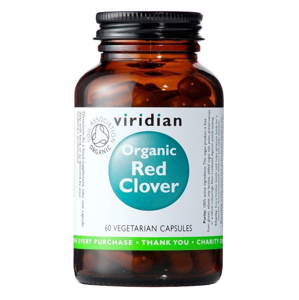 Viridian Red Clover Organic 60 kapslí