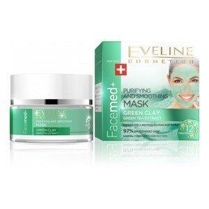 Eveline Cosmetics  Eveline Facemed čistící pleťová maska se zeleným jílem 50ml