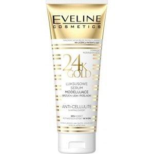 Eveline Cosmetics  Eveline Slim Therapy 24k Gold modelující sérum na břicho, stehna a hýždě 250ml