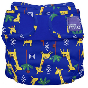 Bambino Mio Miosoft plenkové kalhotky Giraffe Jamboree 9-15kg