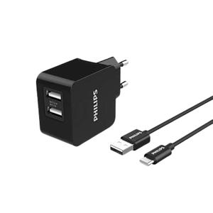Philips USB nástěnná nabíječka DLP2307A/12