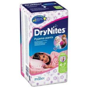 Huggies  Plenkové kalhotky Dry Nites pro děvčata s váhou 17-30kg 10ks