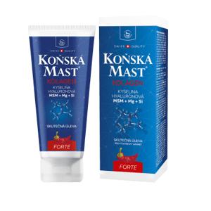 Herbamedicus Koňská mast s kolagenem forte hřejivá 200ml