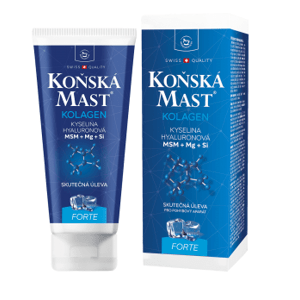 Herbamedicus Koňská mast s kolagenem forte chladivá 200ml