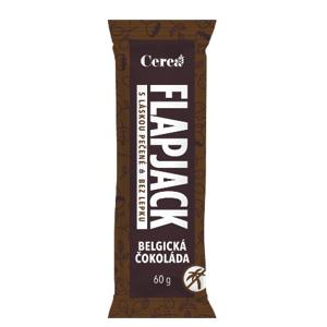Cerea  Flapjack Belgická čokoláda Ovesná tyčinka 60g