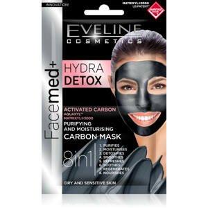 Eveline Cosmetics  Eveline Facemed Hydra Detox pleťová maska 8v1 2x5ml