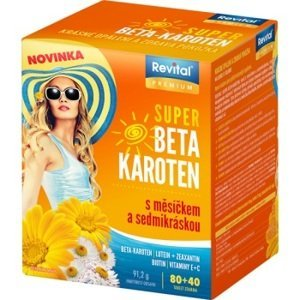 Revital Super Beta-karoten+Měsíček+Sedmikráska 80+40 tablet