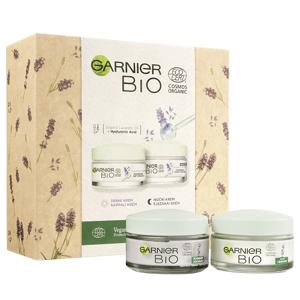 Garnier BIO Levandule dárková sada denní a noční krém 2ks
