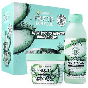 Garnier Fructis Hair Food Aloe Vera šampon a maska dárková sada 2ks