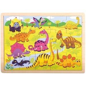 Bino  Puzzle Dinosauři, 20d.