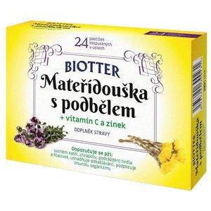Biotter Mateřídouška s podbělem 24 tablet