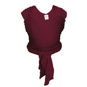ByKay Šátek Stretchy Wrap Classic Berry Red