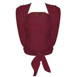 Bykay,šátek WOVEN WRAP DeLuxe,Berry Red (vel. 7)