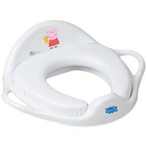 Tega  Dětské sedátko na WC měkké Peppa Pig white-pink
