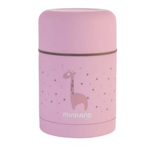 Miniland  Termoska Silky na jídlo Pink 600ml