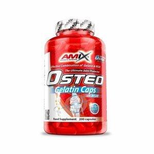 Amix Osteo Gelatin + MSM, 200 kapslí