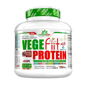 Amix Vege-Fiit Protein, Double Chocolate, 2000g