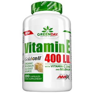 Amix Vitamin E 400 I.U. LIFE+ 200 kapslí