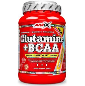 AMIX L-Glutamine + BCAA - powder, Natural, 1000g