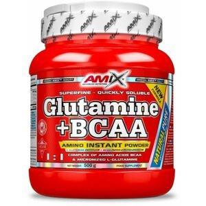 AMIX L-Glutamine + BCAA - powder, Natural, 500g